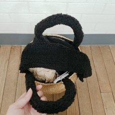 画像7: 金・銀アバカボアバッグ 限定金糸編み Humming bird (7)