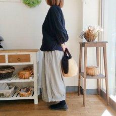 画像10: 金・銀アバカボアバッグ 限定金糸編み Humming bird (10)