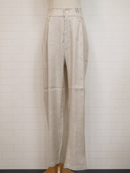 画像1: 【2020 S/S SALE NA 40%OFF】MB MRACLE ST pants/NAT (1)
