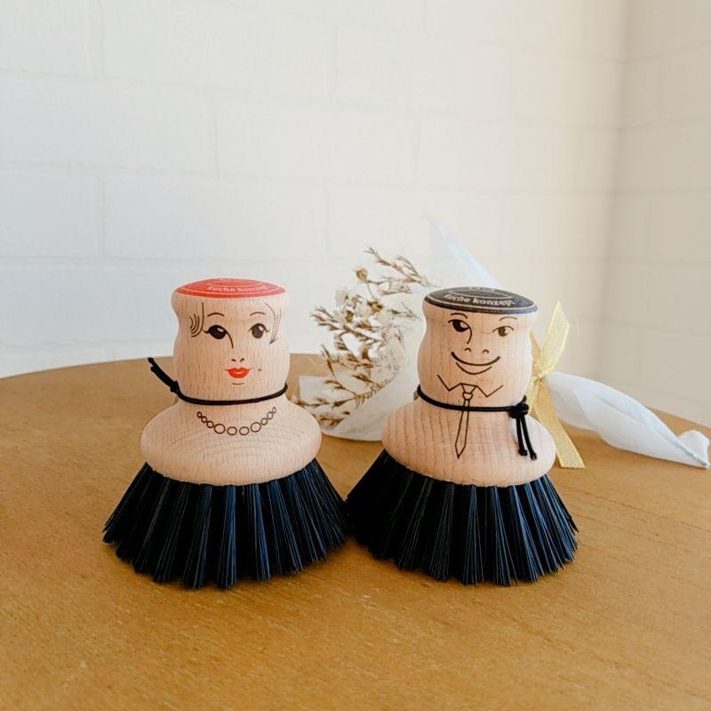 画像1: ロクサンポットブラシ マルクとハンナ (1)