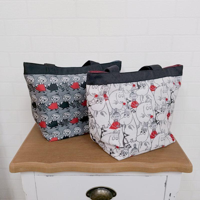 画像1: MOOMINゴブラン織りトートバッグ/ムーミン (1)